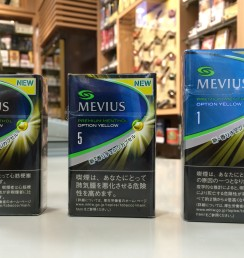 MEVIUS PREMIUM MENTHOL OPTION YELLOW
