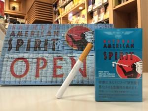 ナチュラル アメリカン スピリット から、新銘柄オーガニックタバコ発売します。