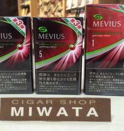 MEVIUS PREMIUM MENTHOL OPTION RED