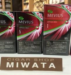 MEVIUS PREMIUM MENTHOL OPTION RED
