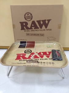RAW METAL TRAY XXL