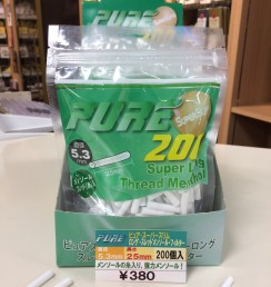 PURE SUPER SLIMS THREAD MENTHOL FILTERS