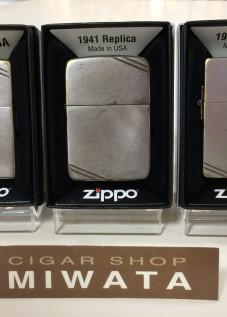 ZIPPO DIAGONAL LINE OLD FINISH