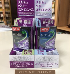 MEVIUS PREMIUM MENTHOL OPTION PURPLE