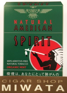 NATURAL AMERICAN SPIRIT ORGANIC MINT
