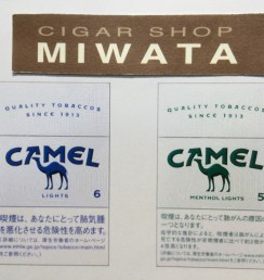 CAMEL LIGHT_MENTHOL LIGHTS BOX