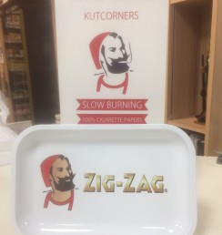 ZIG‐ZAG METAL TRAY