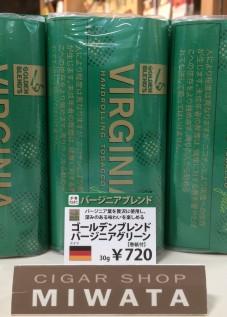 GOLDEN BLEND'S VIRGINIA green