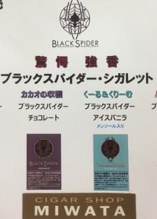 BLACK SPIDER cigarette