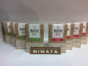 KEITH SLIM BRANDY・KEITH SLIM MATCHA LATTE