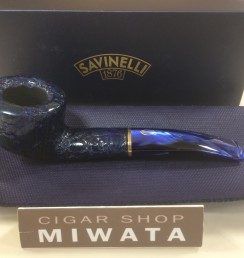 SAVINELLI ALLIGATOR BLUE 316
