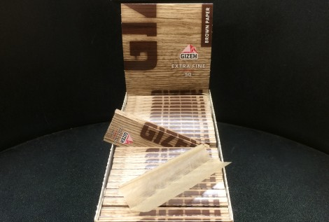 GIZEH BROWN PAPER EXTRA FINE