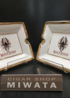 BLACK SPIDER ashtray