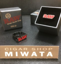 RAW SMOKING RING BLACK