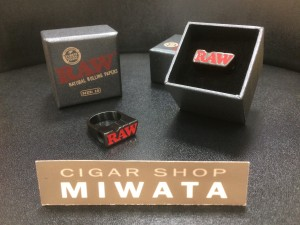 RAW SMOKING RING BLACK