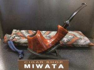 Kozaka satoru hand made pipe