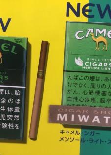 CAMEL CIGARS MENTHOL・CAMEL CIGARS MENTHOL LIGHTS