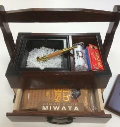 Hand rolled Handbag ashtray