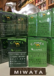 CAMEL CIGARS MENTHOL SLIMS・MENTHOL LIGHTS SLIMS