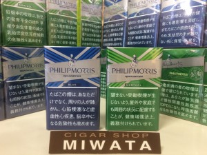 PHILIPMORRIS ROADSTER BLUE・PHILIPMORRIS ROADSTER MENTHOL