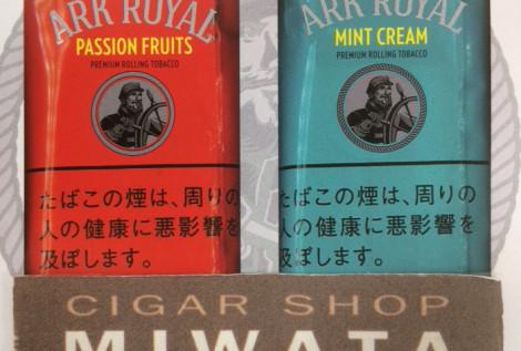 ARK ROYAL PASSION FRUITS・ARK ROYAL MINT CREAM