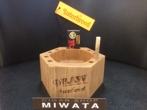 RAW × Interbreed Chilling Wood Ashtray