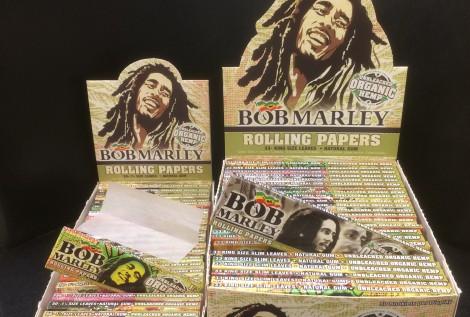 BOB MARLEY UNBLEACHED ORGANIC HEMP PAPER