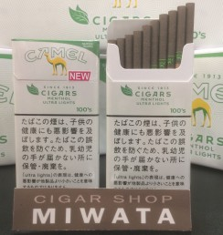 CAMEL CIGARS MENTHOL ULTRA LIGHTS 100'S SLIMS