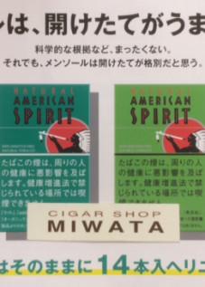 NATURAL AMERICAN SPIRIT ORGANIC MINT