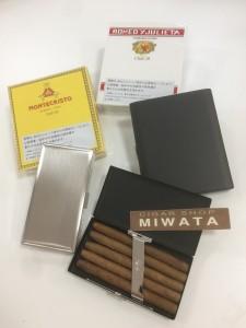 club size cigar case