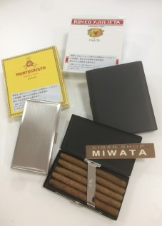 club size cigar case