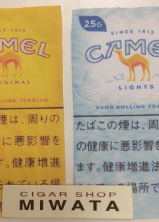 CAMEL ORIGINAL・LIGHTS HAND ROLLING TOBACCO