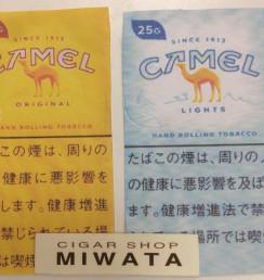 CAMEL ORIGINAL・LIGHTS HAND ROLLING TOBACCO