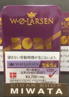 W・O LARSEN EDITION 2021