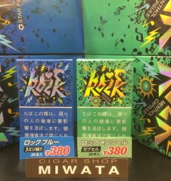 ROCK BLUE STAR FILTER・ROCK MENTHOL CAPSULE
