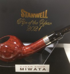 STANWELL PIPE OF THE YEAR 2021 LIGHT BROWN