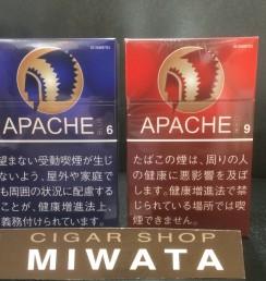 APACHE BLUE 6・APACHE RED 9