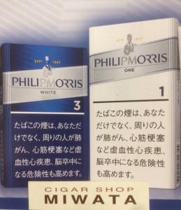 PHILIP MORRIS 3 KS BOX・PHILIP MORRIS 1 100'S BOX