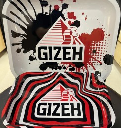 GIZEH ROLLING TRAY