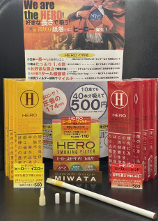HERO・HERO SMOKING FILTER