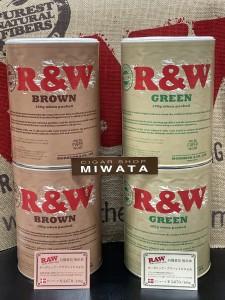 RAW ORGANIC GREEN 100g・RAW ORGANIC BROWN 100g