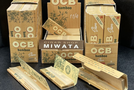 OCB bamboo papers